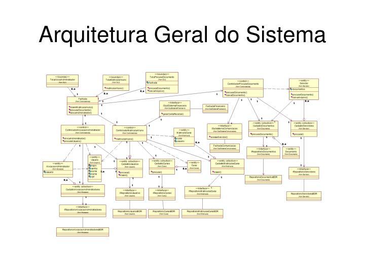 Arquitetura Geral do Sistema