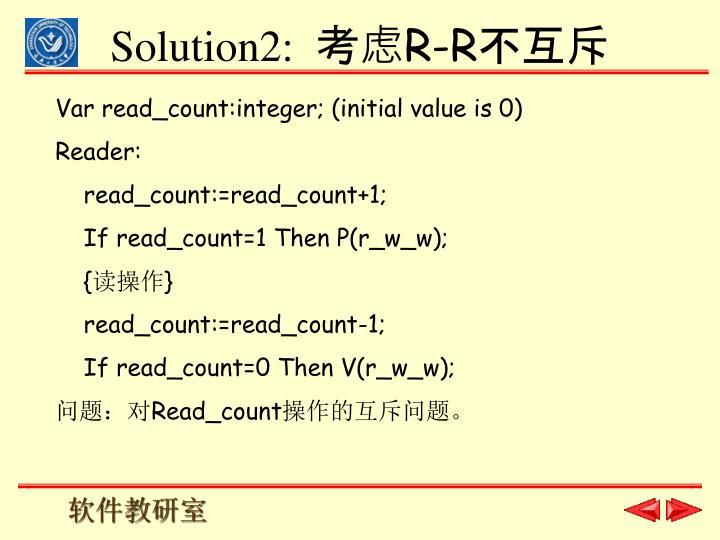 Solution2: