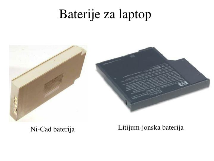 Baterije za laptop