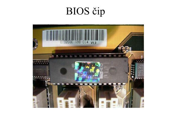BIOS čip