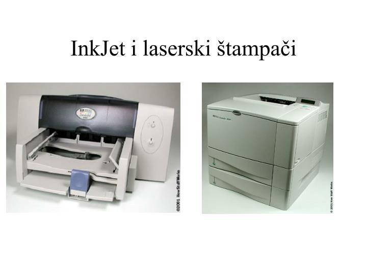 InkJet i laserski štampači