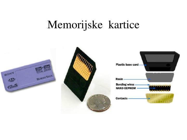 Memorijske