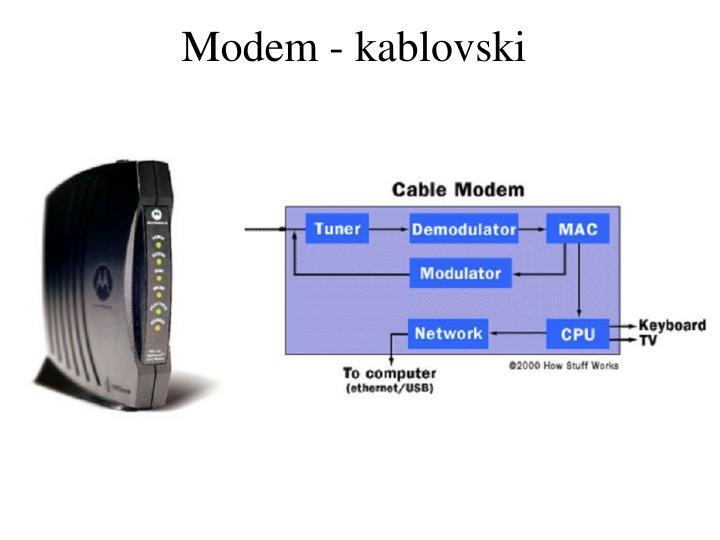Modem - kablovski
