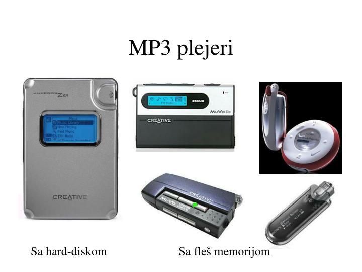 MP3 plejeri