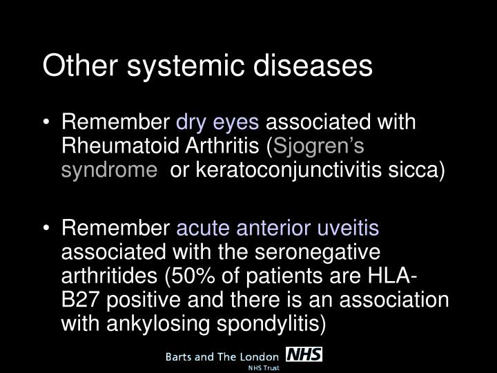 Other systemic diseases