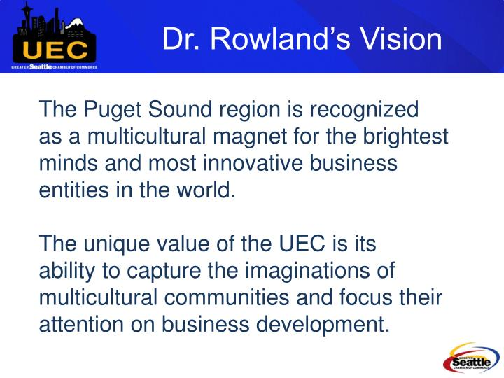 Dr. Rowland's Vision