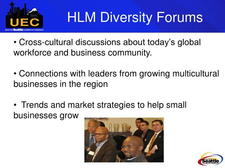 HLM Diversity Forums