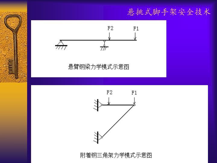 悬挑式脚手架安全技术