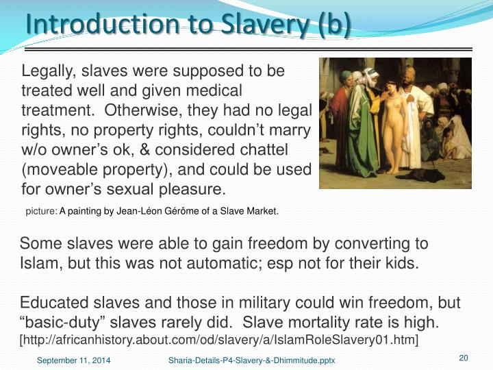 Introduction to Slavery (b)