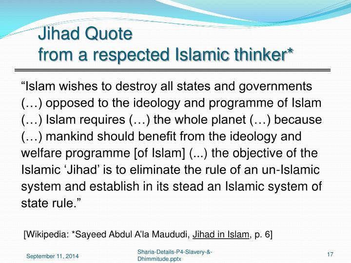 Jihad Quote