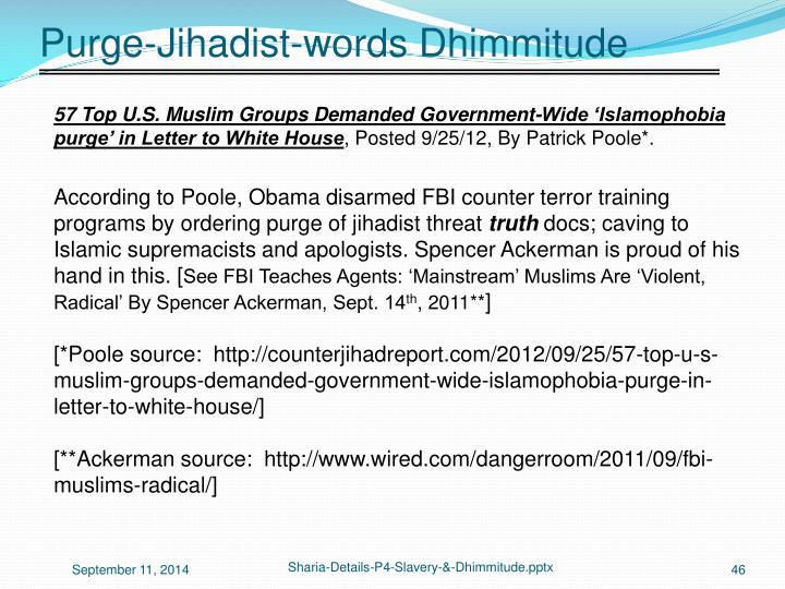 Purge-Jihadist-words