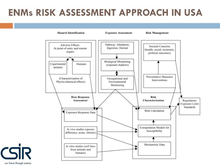ENMs RISK ASSESSMENT APPROACH IN USA