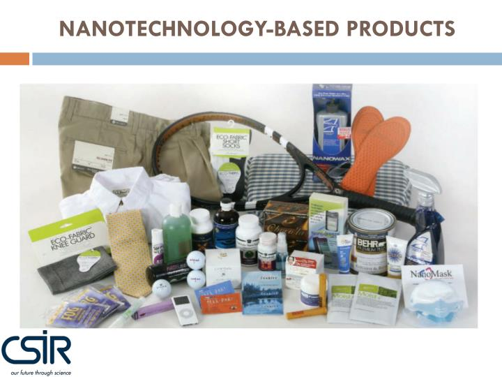 NANOTECHNOLOGY-BASED PRODUCTS