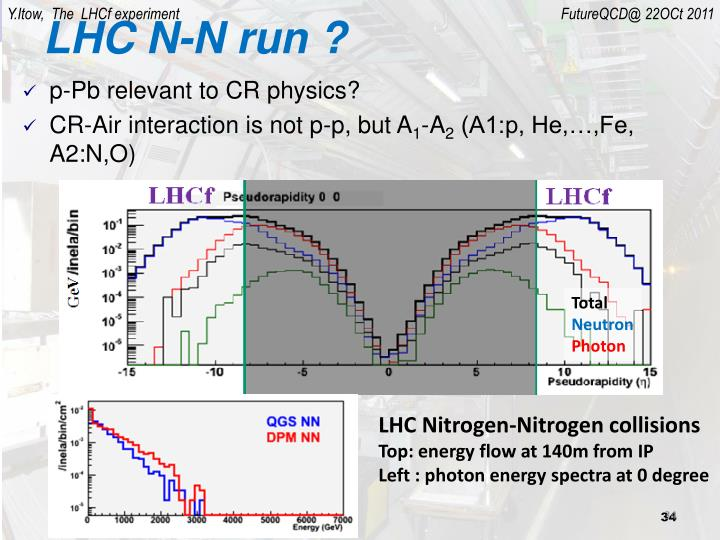 LHC N-N run ?