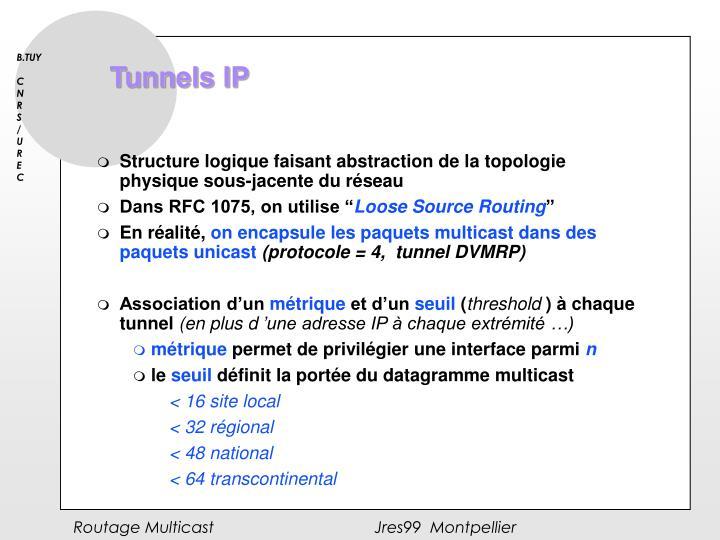 Tunnels IP