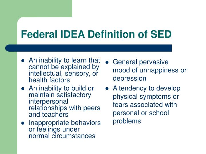 An inability to learn that cannot be explained by intellectual, sensory, or health factors