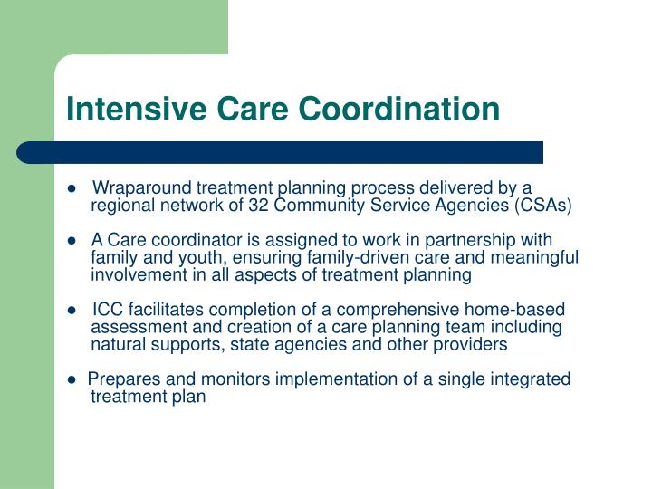 Intensive Care Coordination