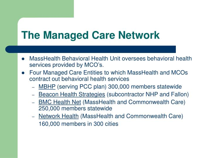 The Managed Care Network