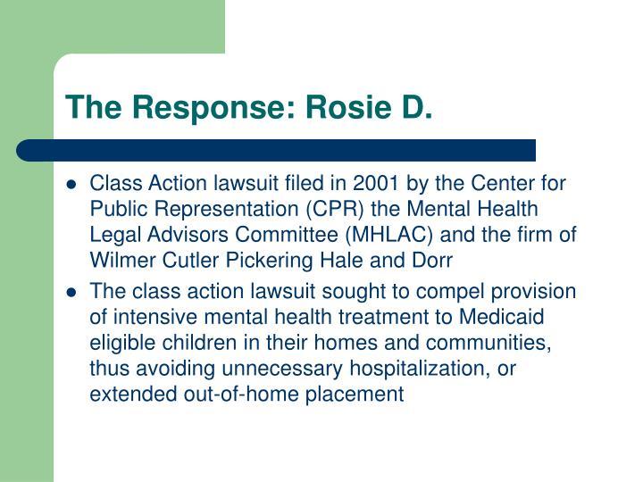 The Response: Rosie D.