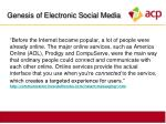 genesis of electronic social media4