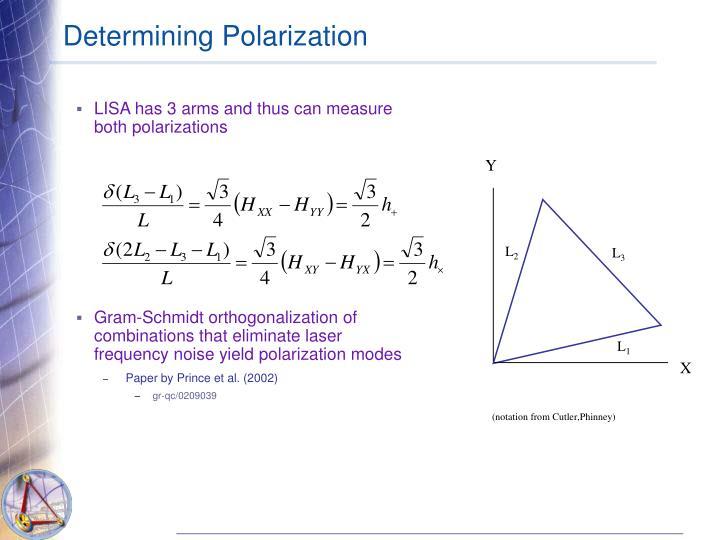 Determining Polarization