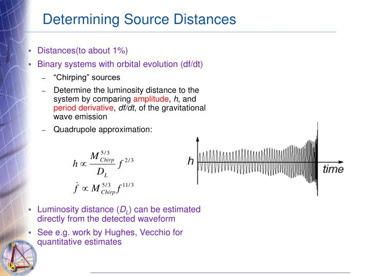 Determining Source Distances