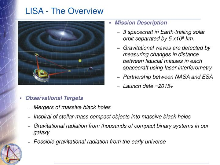 LISA - The Overview