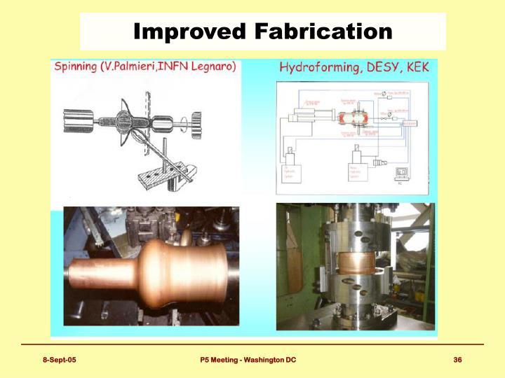 Improved Fabrication