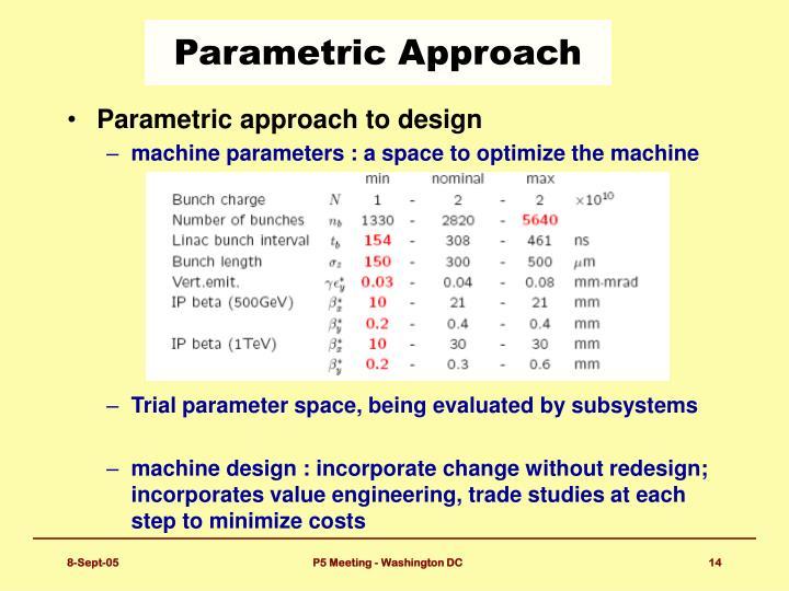 Parametric Approach