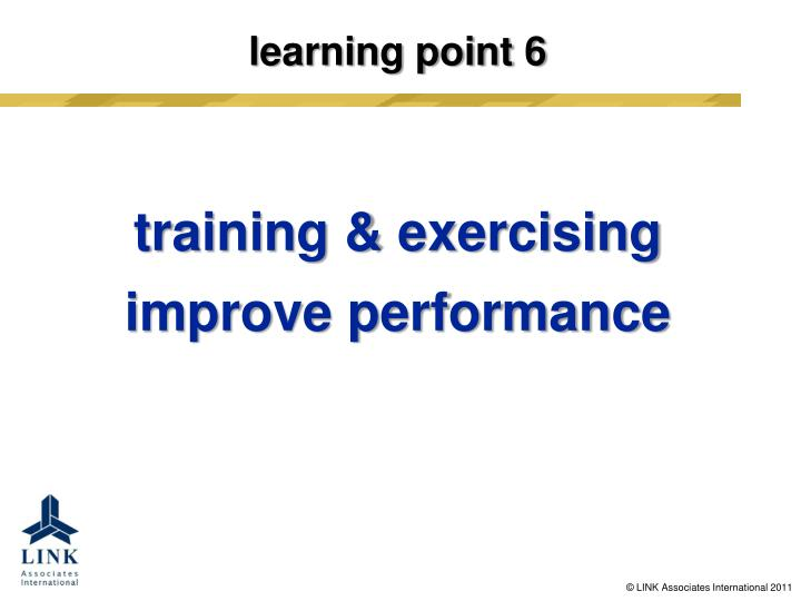 learning point 6