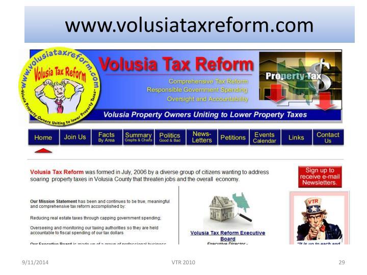 www.volusiataxreform.com