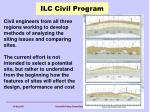 ilc civil program