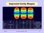 improved cavity shapes