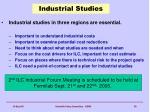 industrial studies