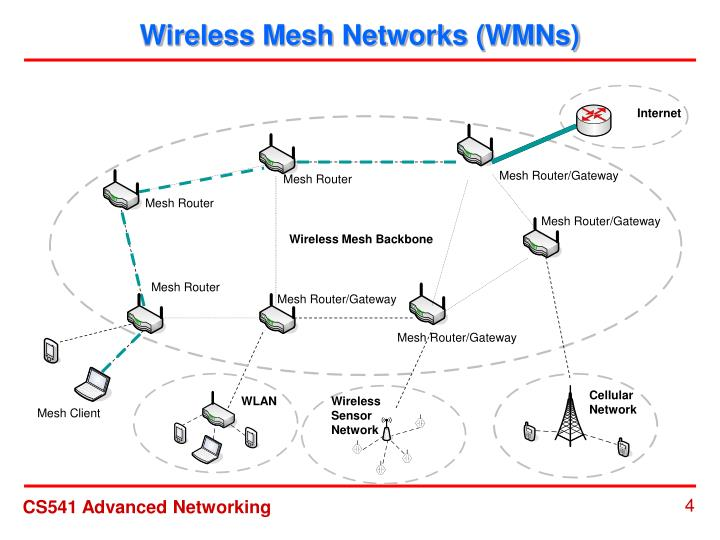 Wireless Mesh Networks (WMNs)