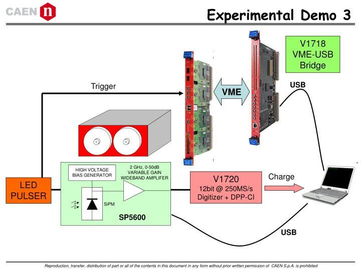Experimental Demo 3
