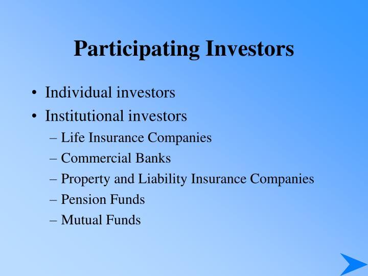 Participating Investors