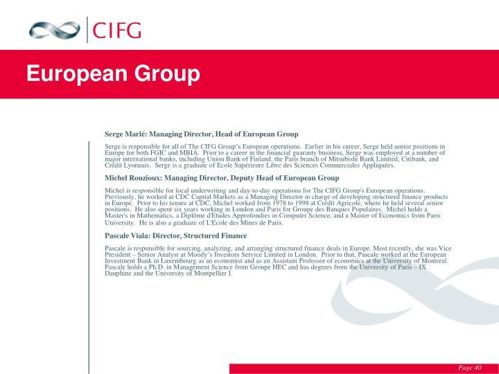 European Group