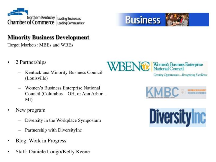 Minority Business Development