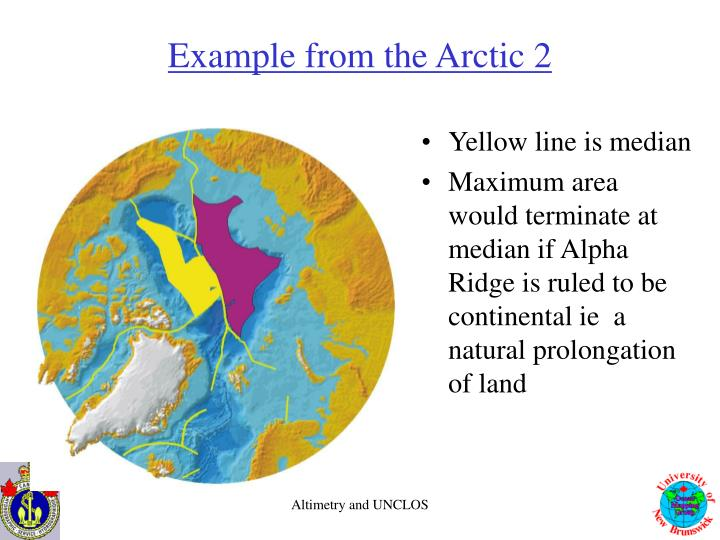 Example from the Arctic 2