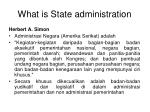 what is state administration1