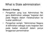 what is state administration2