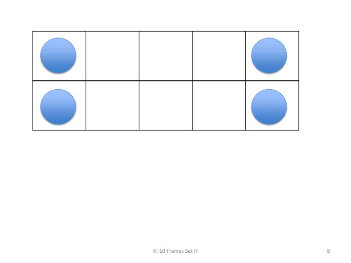 K: 10 Frames Set H