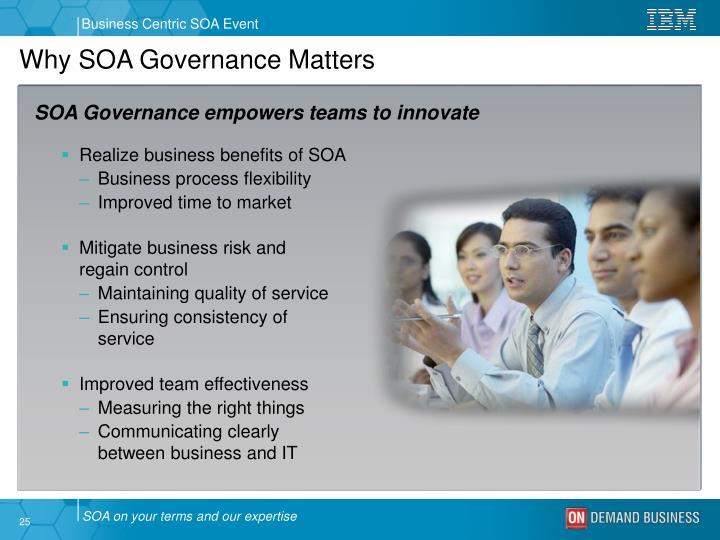 Why SOA Governance Matters