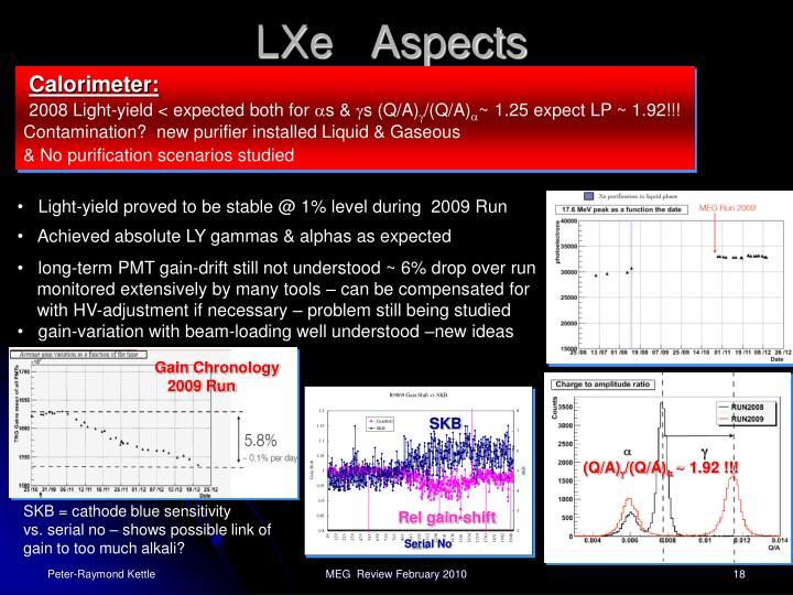 LXe   Aspects