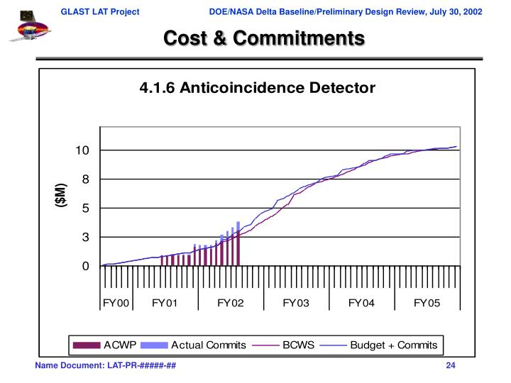 Cost & Commitments