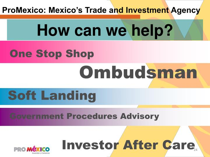 ProMexico: Mexico's Trade and Investment Agency