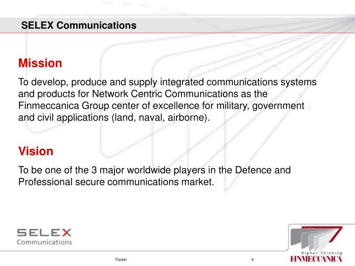 SELEX Communications