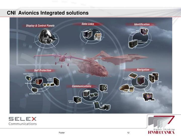 CNI  Avionics Integrated solutions