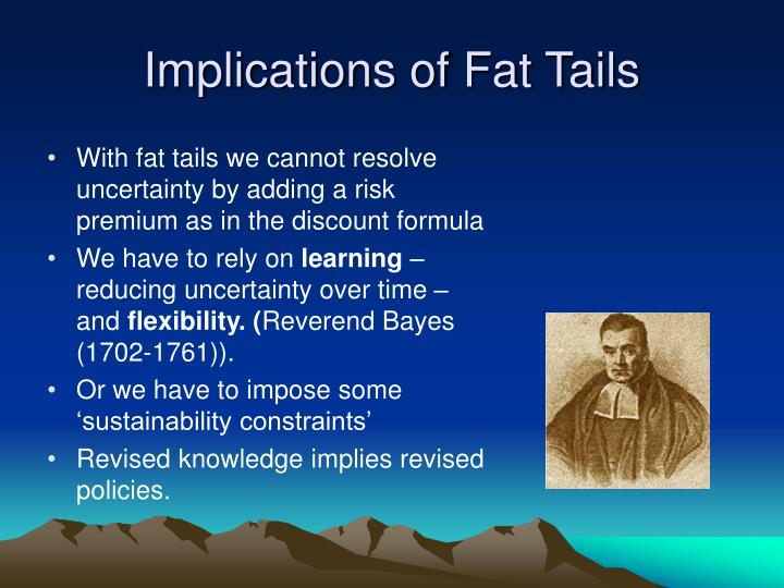Implications of Fat Tails
